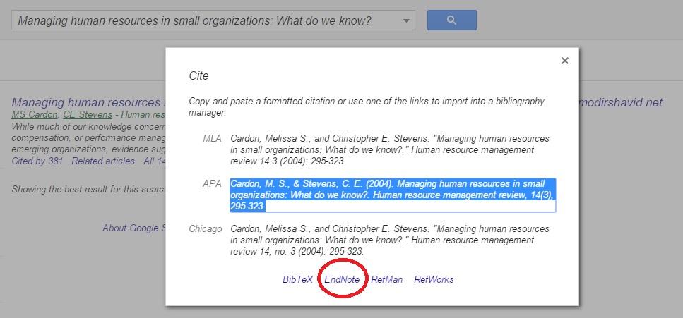 ساده ترین شیوه رفرنس دهی مقالات به وسیله Endnote