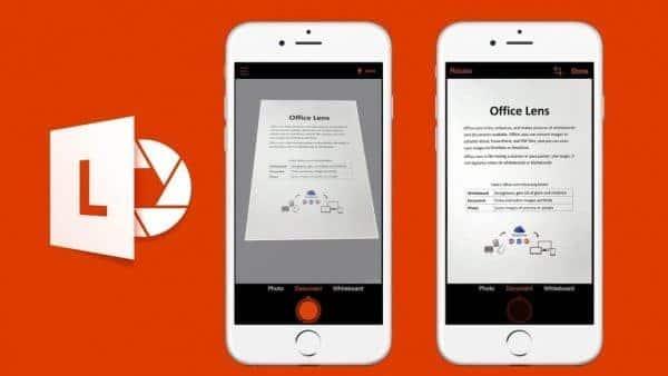 نرمافزارهای موبایل مخصوص دانشجویان - Office Lens